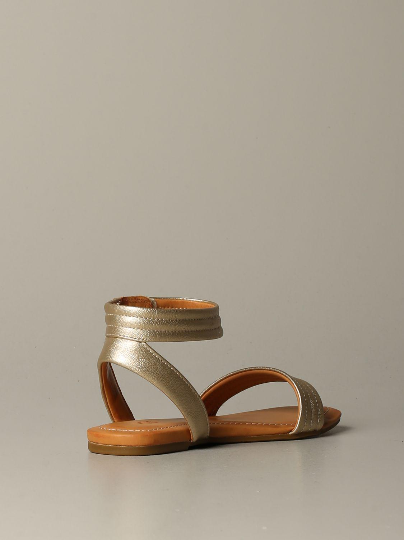 Schuhe damen Ugg Australia gold 3