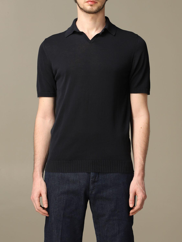 Camiseta Alpha Studio: Camiseta hombre Alpha Studio azul oscuro 1