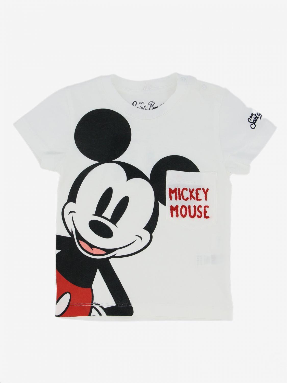 Mc2 Saint Barth T-Shirt mit Maus weiß 1