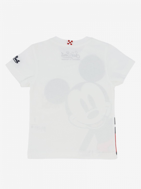 Mc2 Saint Barth T-Shirt mit Maus weiß 2