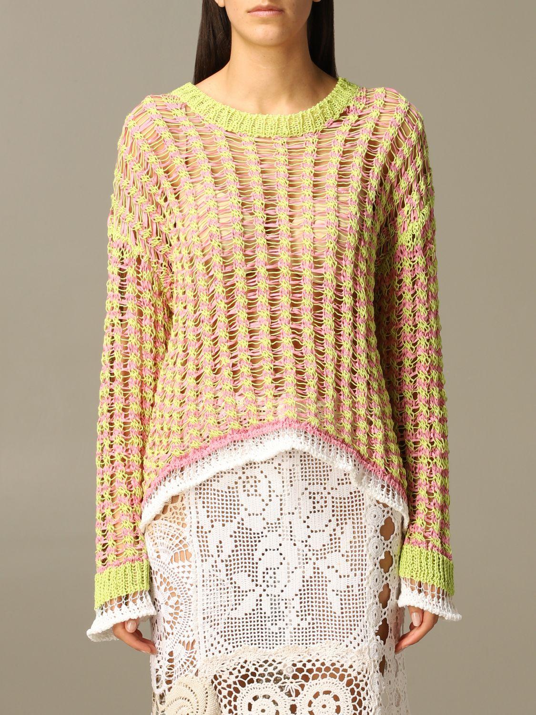 Sweater Marco Rambaldi: Sweater women Marco Rambaldi multicolor 1