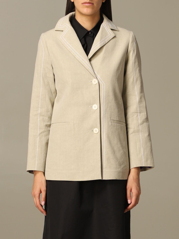 Jacket Marco Rambaldi: Jacket women Marco Rambaldi beige 1