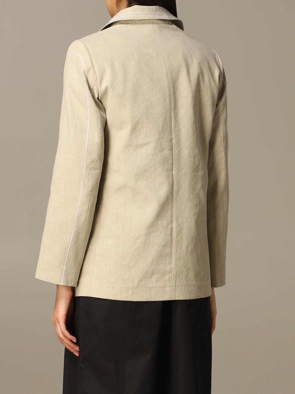 Jacket Marco Rambaldi: Jacket women Marco Rambaldi beige 2