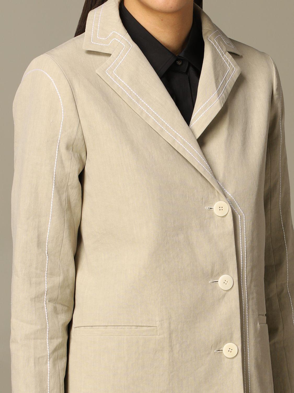 Jacket Marco Rambaldi: Jacket women Marco Rambaldi beige 3