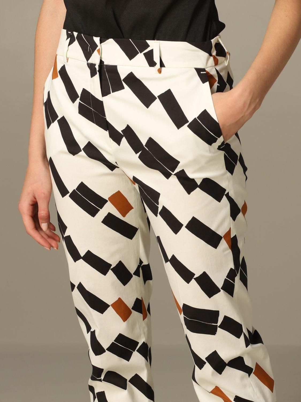 Pantalone Hanita a fantasia geometrica fantasia 3