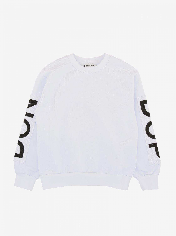 Maglia Dondup: Felpa a girocollo Dondup con logo bianco 1