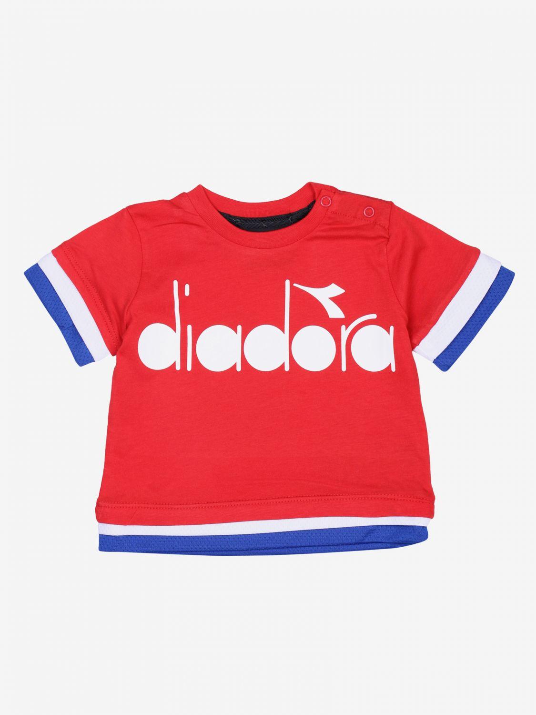 Футболка Детское Diadora красный 1
