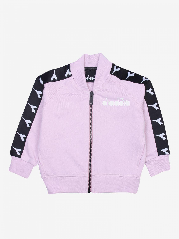 Sweater kids Diadora pink 1
