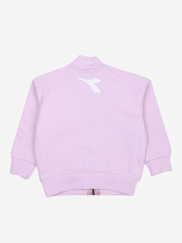 Sweater kids Diadora pink 2