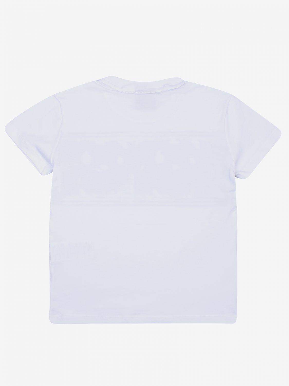 T-shirt kinder Diadora weiß 2