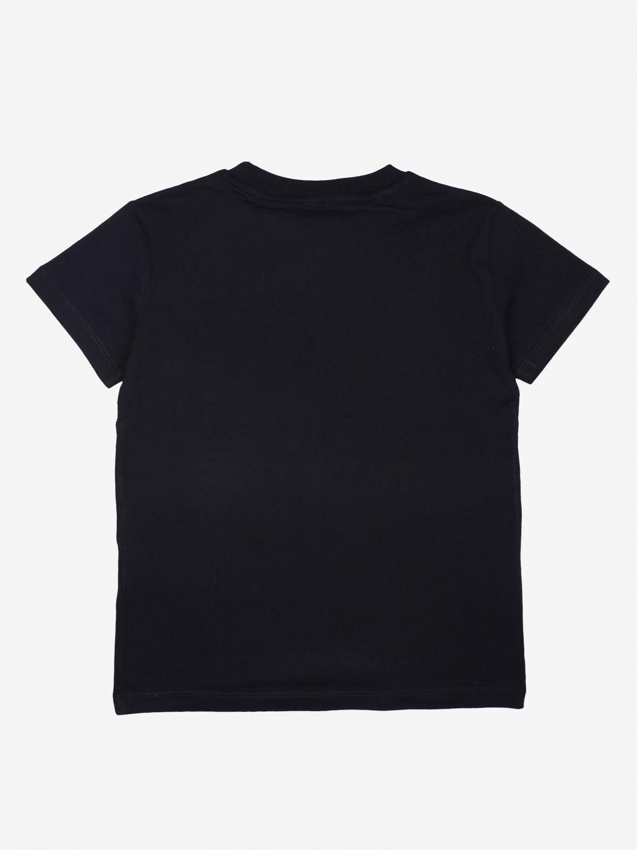 T-shirt kinder Diadora schwarz 2