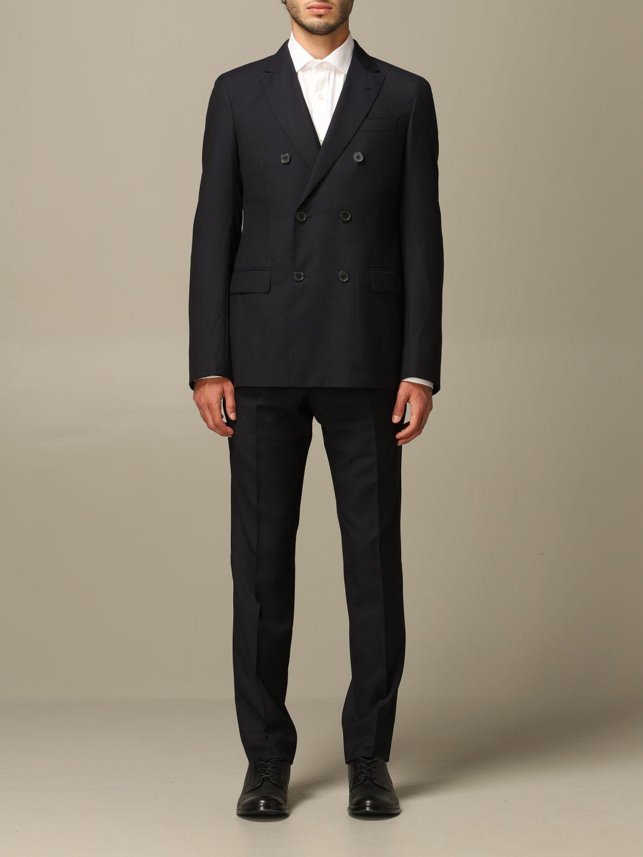 Suit Emporio Armani: Emporio Armani double-breasted suit navy 1