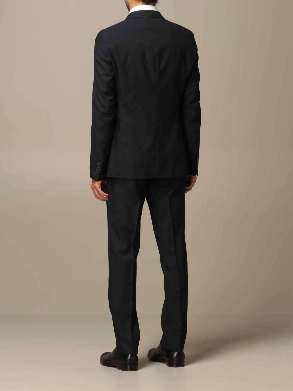Suit Emporio Armani: Emporio Armani double-breasted suit navy 2