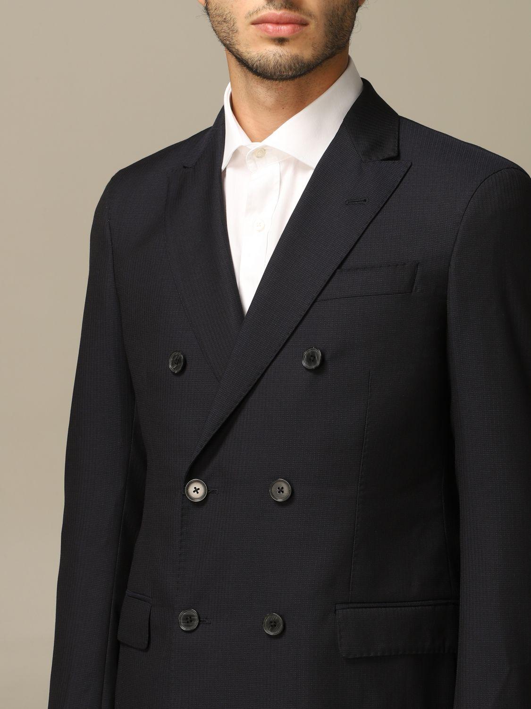 Suit Emporio Armani: Emporio Armani double-breasted suit navy 3