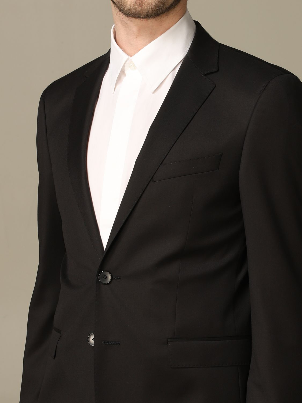 西服外套 Hugo Boss: 西服外套 男士 Hugo Boss 黑色 3