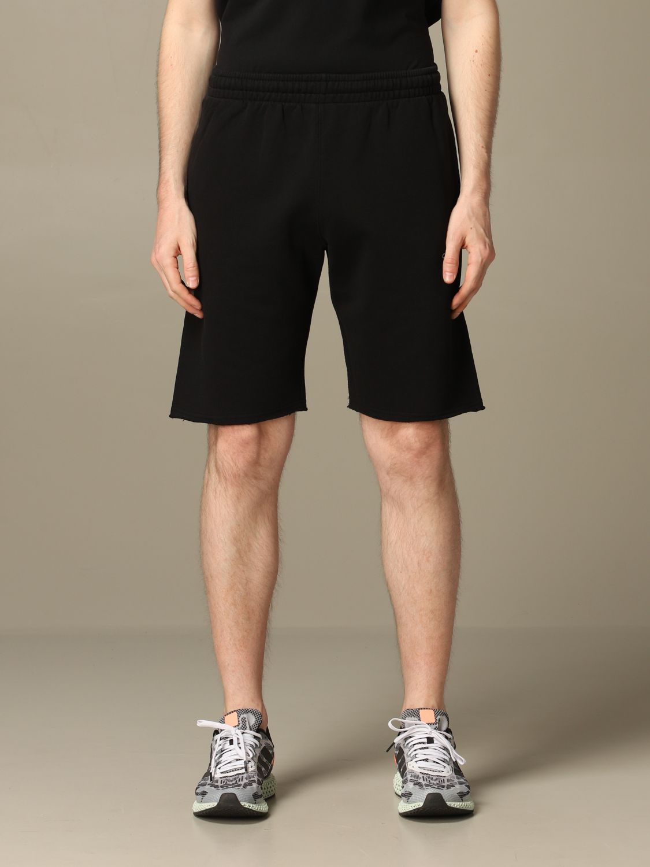 Short Off White: Off White jogging bermuda shorts with logo white 1