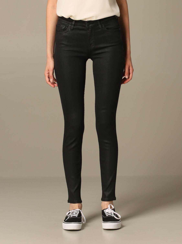 牛仔裤 Seven Seven: 牛仔裤 女士 Seven Seven 黑色 1