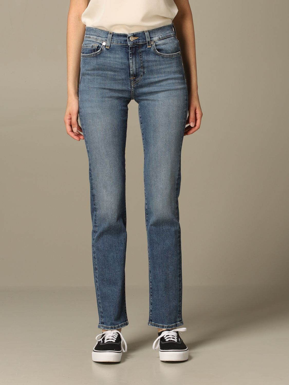 牛仔裤 Seven Seven: 牛仔裤 女士 Seven Seven 蓝色 1