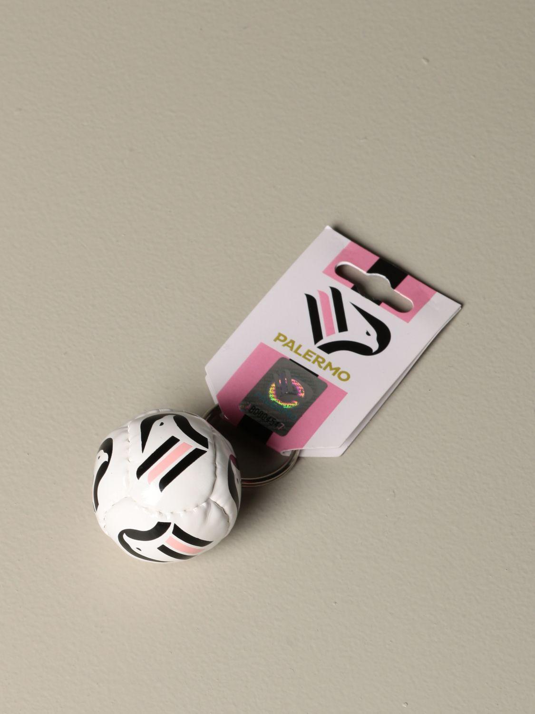 Portachiavi Palermo: Portachiavi Palermo a forma di palla da calcio bianco 1