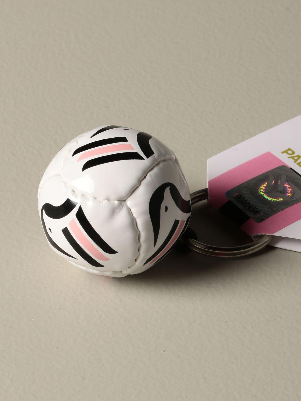 Portachiavi Palermo: Portachiavi Palermo a forma di palla da calcio bianco 2
