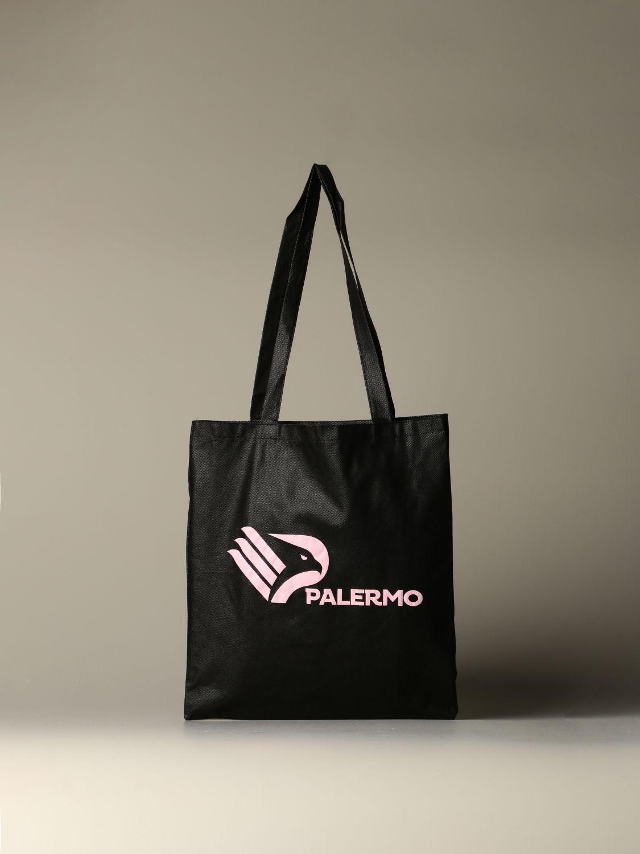 Borsa a tracolla Palermo: Shopper Palermo con stemma nero 1