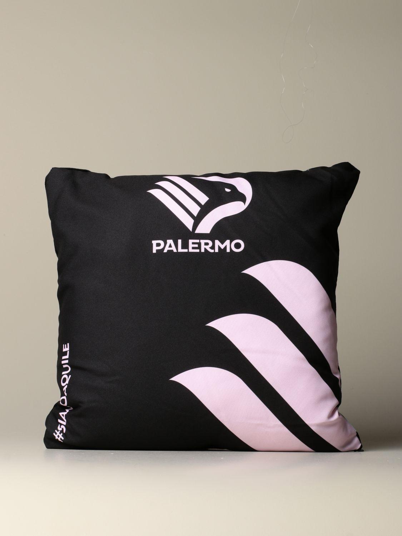 Accessori Palermo: Cuscino Palermo con stemma aquila nero 1