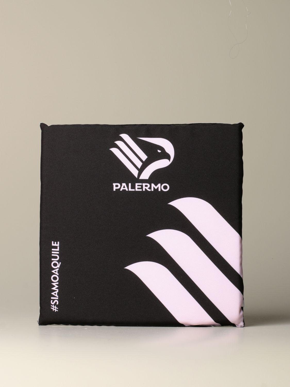 Accessori Palermo: Cuscino stadio palermo con stemma aquila nero 1