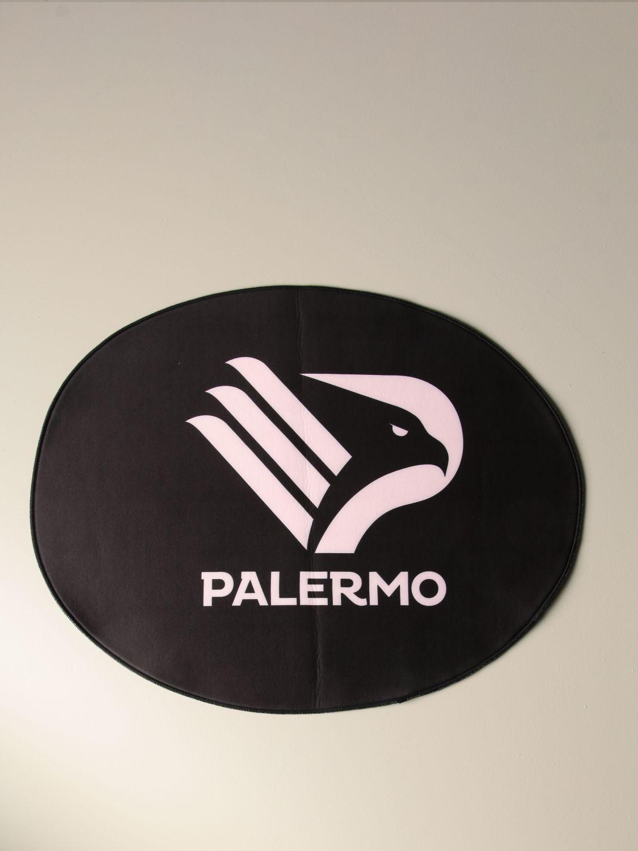 Accessori Palermo: Tappeto ovale da bagno Palermo con stemma aquila nero 1