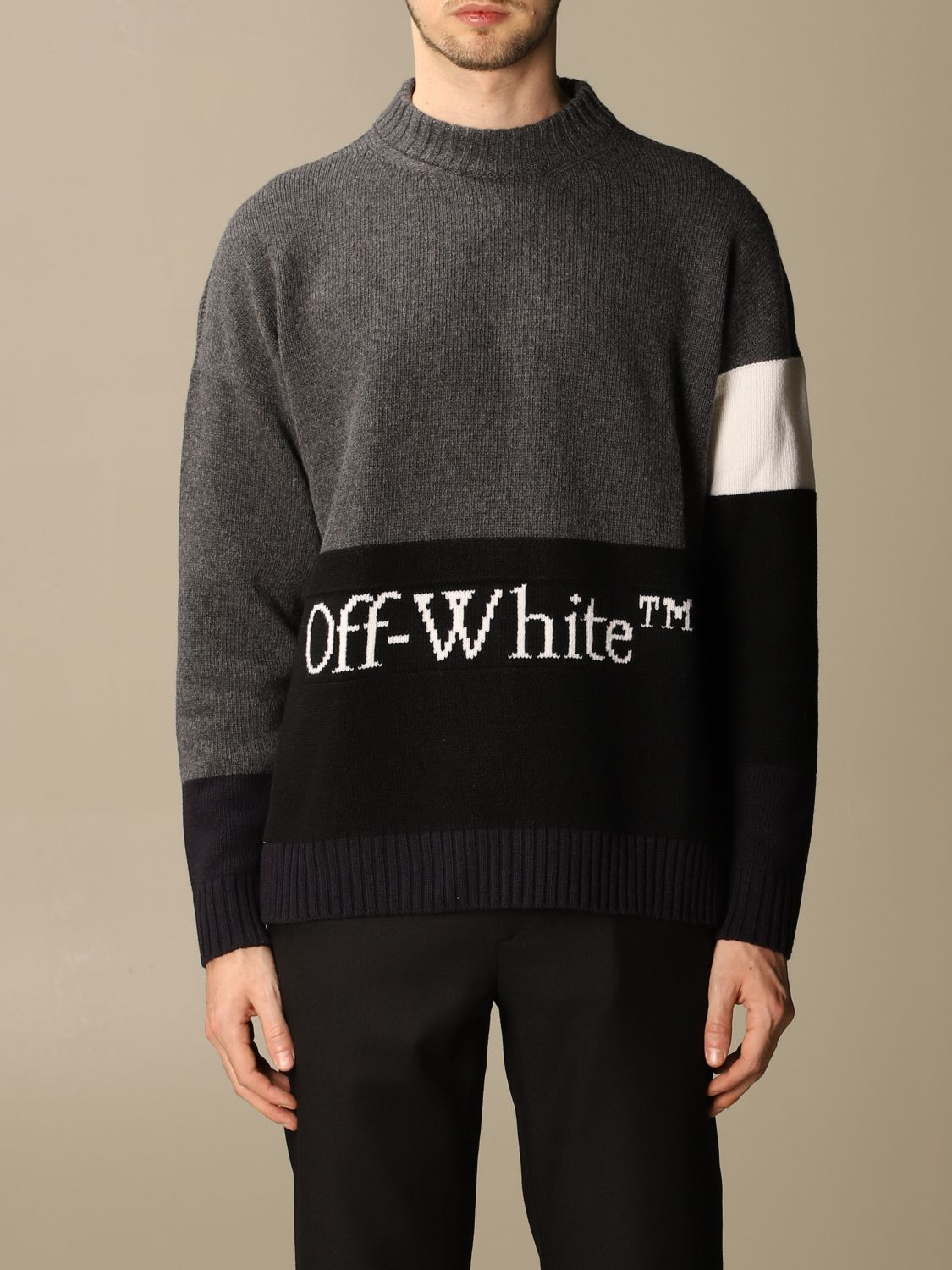 Jersey Off White: Jersey hombre Off White gris 1