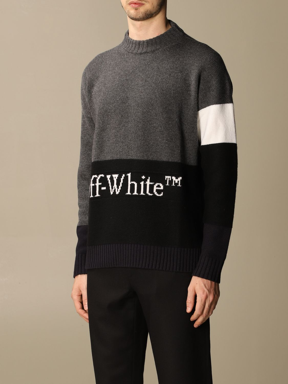 Jersey Off White: Jersey hombre Off White gris 3