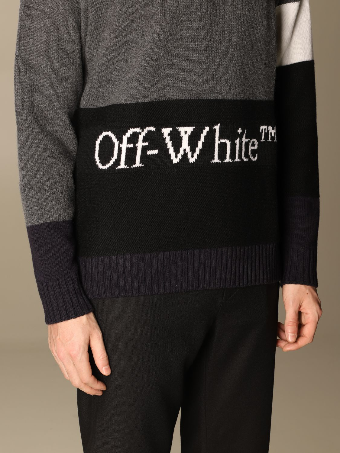 Jersey Off White: Jersey hombre Off White gris 4