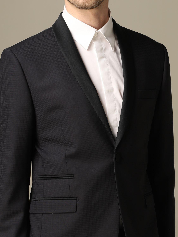 Классический костюм Alessandro Dell'acqua: Классический костюм Мужское Alessandro Dell'acqua синий 3