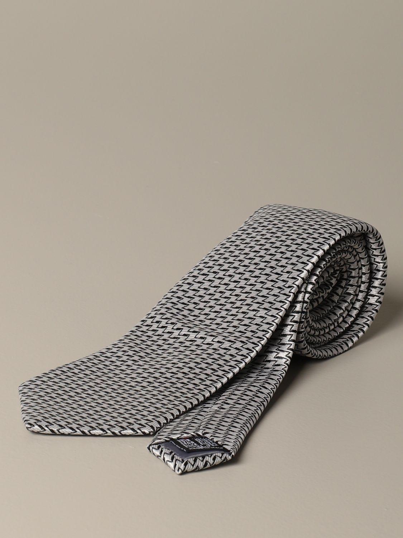 Krawatte Alessandro Dell'acqua: Krawatte herren Alessandro Dell'acqua grau 1