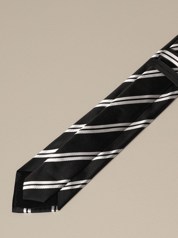 Tie Alessandro Dell'acqua: Tie men Alessandro Dell'acqua black 2