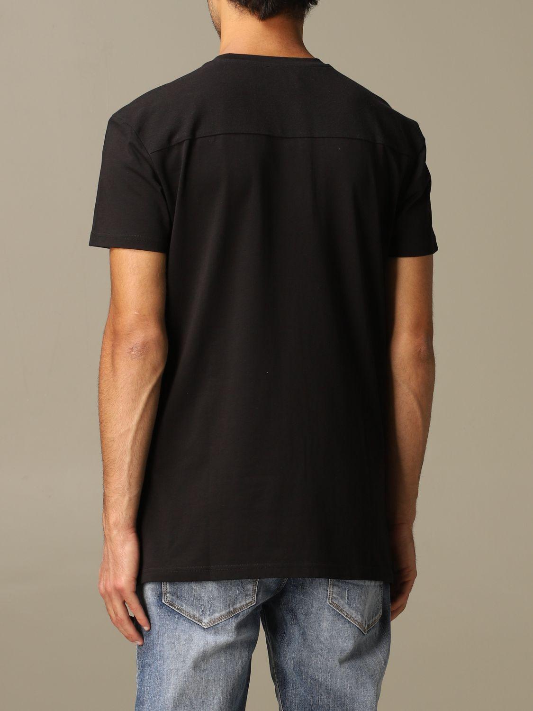 Maglia Alessandro Dell'acqua: T-shirt Alessandro Dell'acqua con logo nero 2