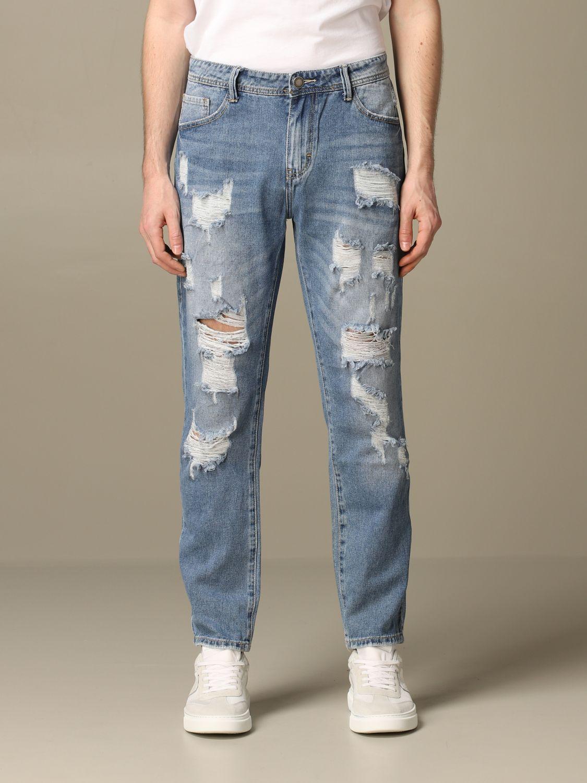 Jeans Alessandro Dell'acqua: Jeans herren Alessandro Dell'acqua navy 1