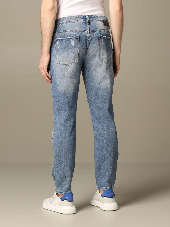 Jeans Alessandro Dell'acqua: Jeans herren Alessandro Dell'acqua navy 2