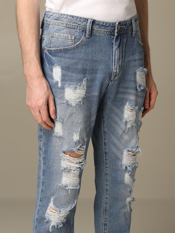 Jeans Alessandro Dell'acqua: Jeans herren Alessandro Dell'acqua navy 3
