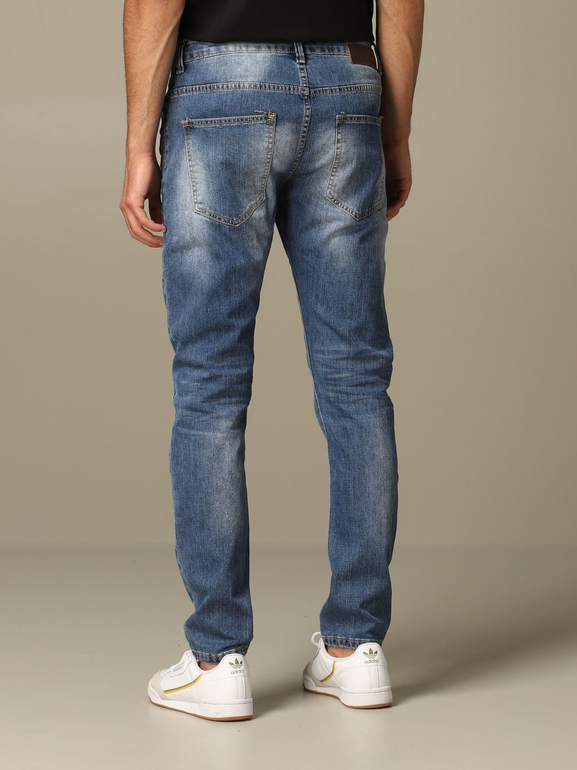 Jeans Alessandro Dell'acqua: Dondup jeans in used denim blue 2