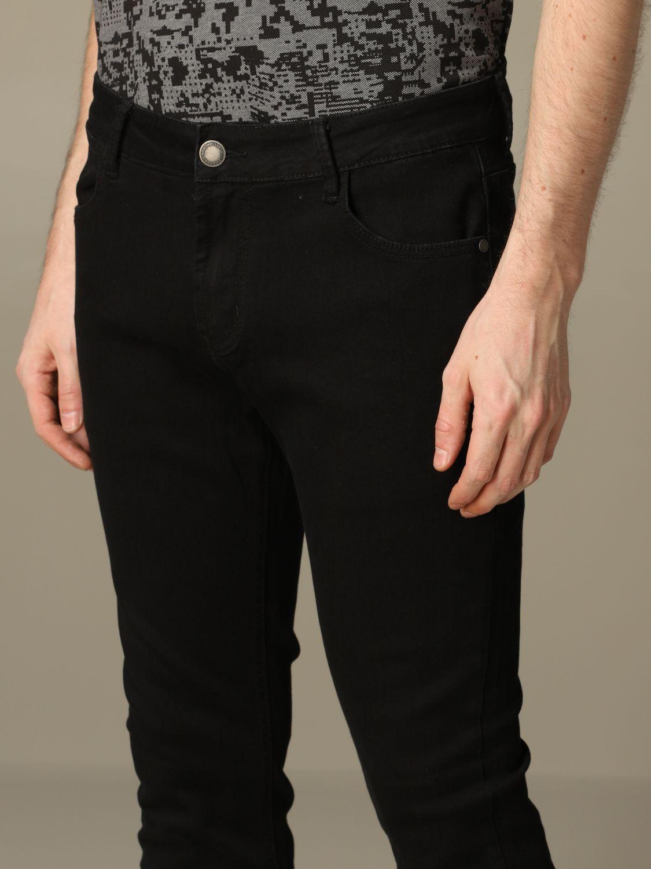 Jeans Alessandro Dell'acqua: Jeans Alessandro Dell'acqua in denim scuro nero 3