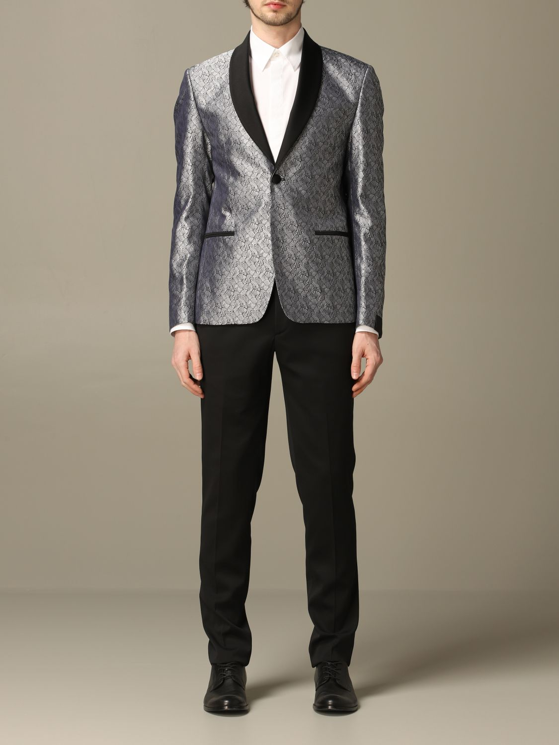 Suit Alessandro Dell'acqua: Alessandro Dell'acqua fancy dress grey 1