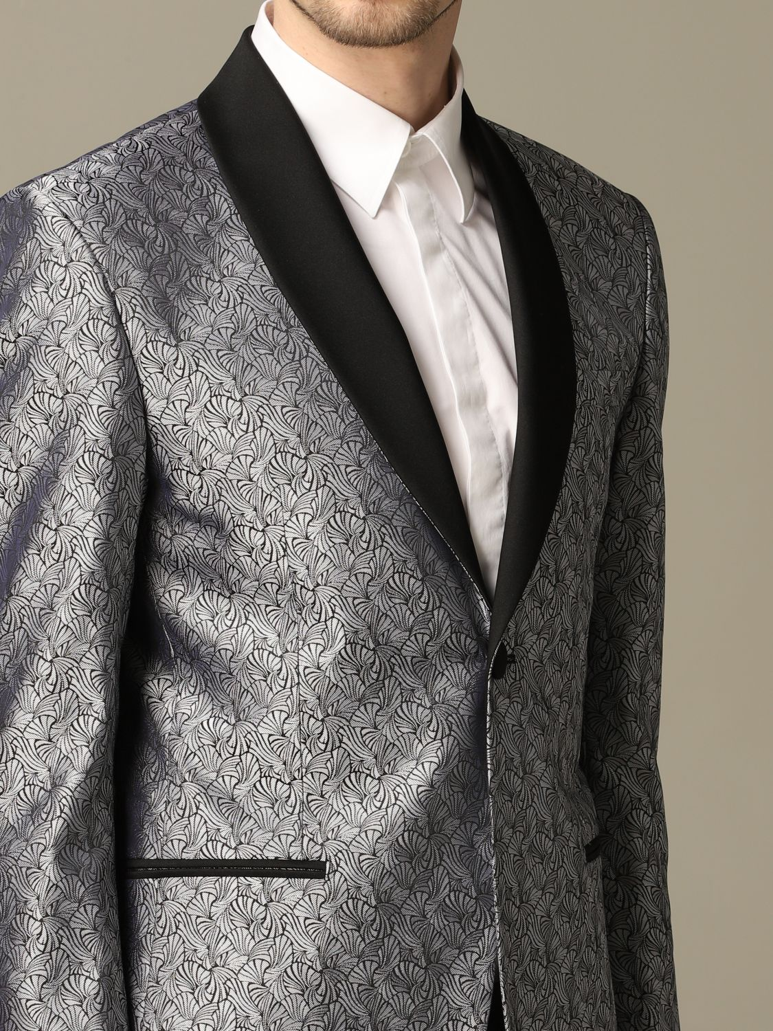 Suit Alessandro Dell'acqua: Alessandro Dell'acqua fancy dress grey 3
