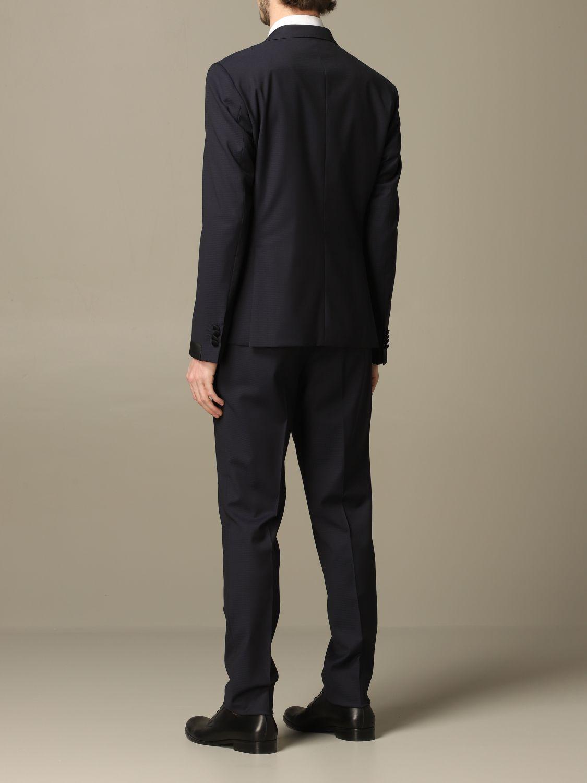 Suit Alessandro Dell'acqua: Alessandro Dell'acqua single breasted suit blue 2