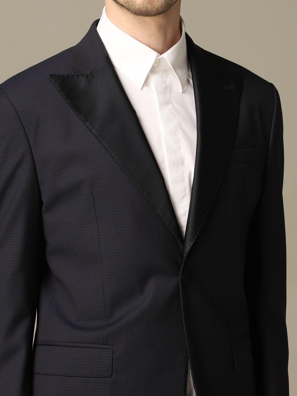 Suit Alessandro Dell'acqua: Alessandro Dell'acqua single breasted suit blue 3