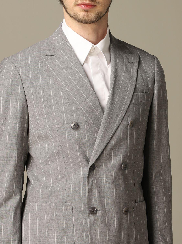 Suit Alessandro Dell'acqua: Suit men Alessandro Dell'acqua grey 3