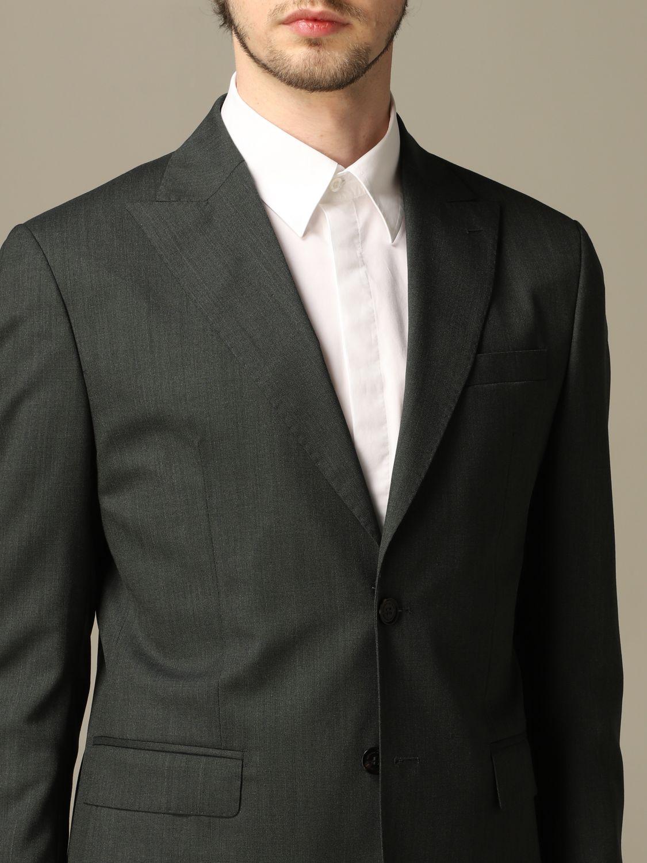 Классический костюм Alessandro Dell'acqua: Классический костюм Мужское Alessandro Dell'acqua зеленый 3