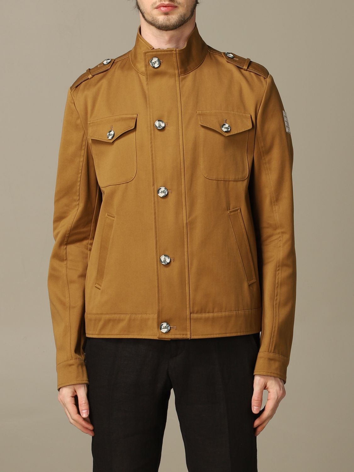 Jacket Alessandro Dell'acqua: Jacket men Alessandro Dell'acqua brown 1