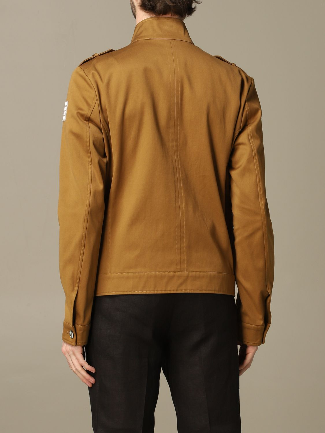 Jacket Alessandro Dell'acqua: Jacket men Alessandro Dell'acqua brown 2