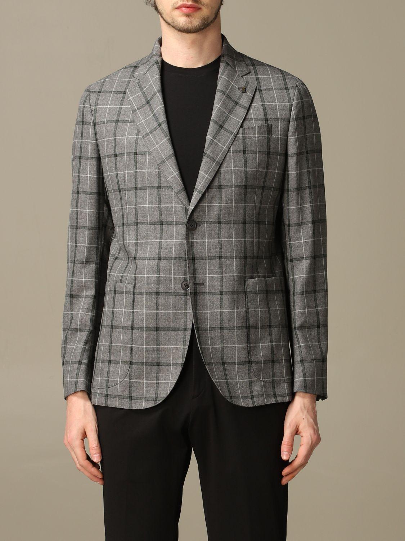 Jacket Alessandro Dell'acqua: Alessandro Dell'acqua virgin wool jacket grey 1