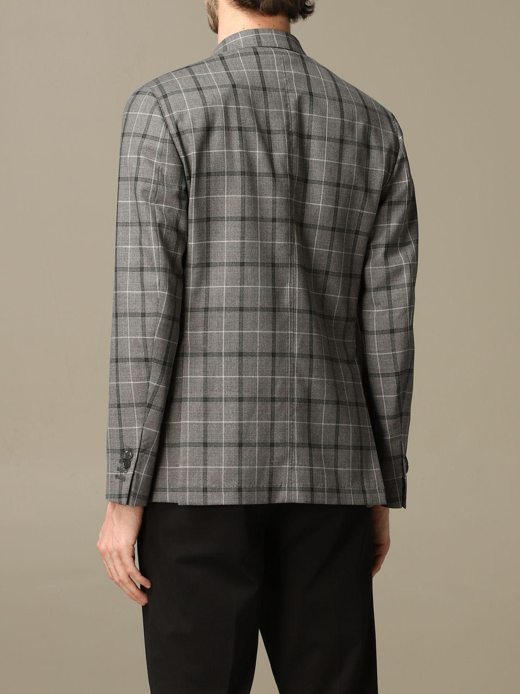 Jacket Alessandro Dell'acqua: Alessandro Dell'acqua virgin wool jacket grey 2